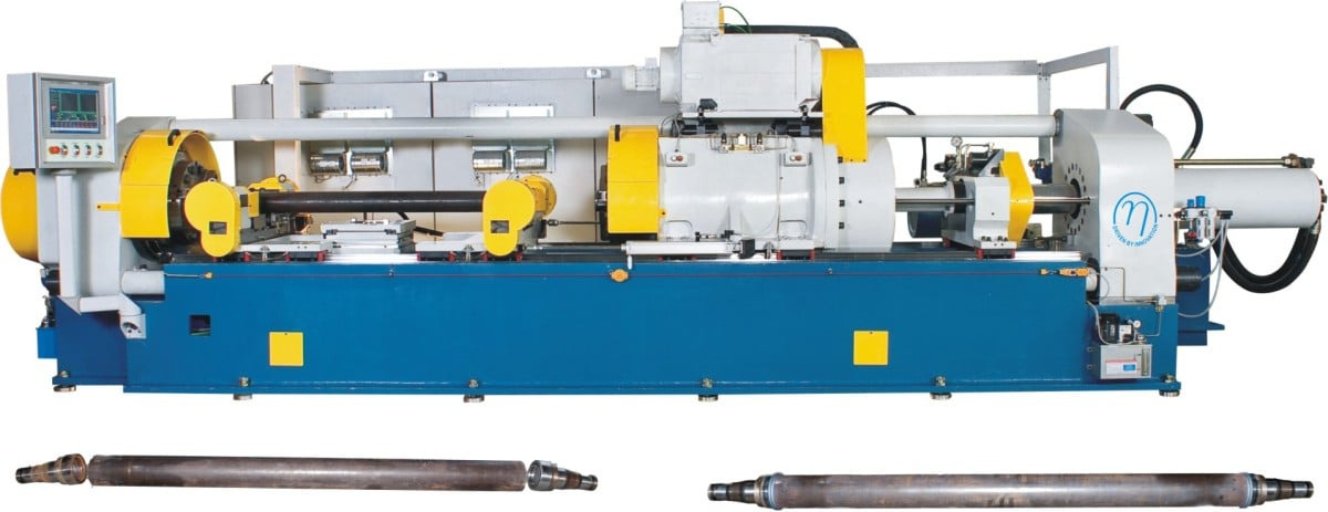 125 tonne Twin head Friction welding machine for Axle housings