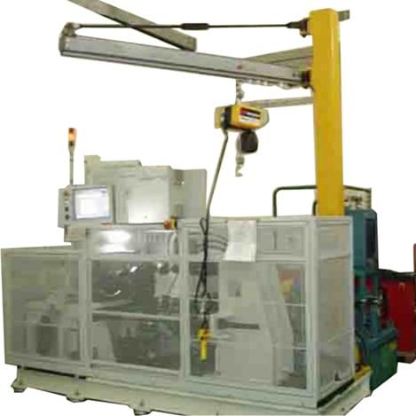 test rig hub rotation