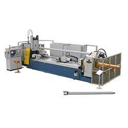 200 tonne Friction welding machine for hydraulic piston rod 250x250