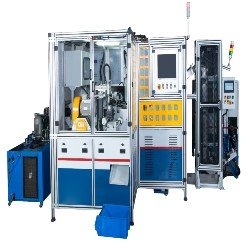 T Horizontal Friction Welder Machine with Deflash Bend Testing and Auto Load Unload